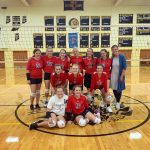 Viking 8th Grade Volleyball beats Cowan