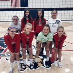 7th Grade Girls Volleyball sweeps Union in 2 sets