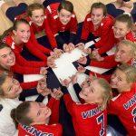 8th Grade Viking Volleyball beats Knightstown