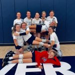 8th Grade Viking Volleyball beats Anderson Prep. Academy