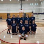 8th Grade BRV Volleyball is defeated by Eastern Hancock in MEC Tourney