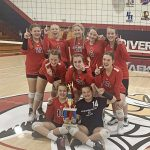 BRV Viking 8th Grade Volleyball Team wins Henry County Title!