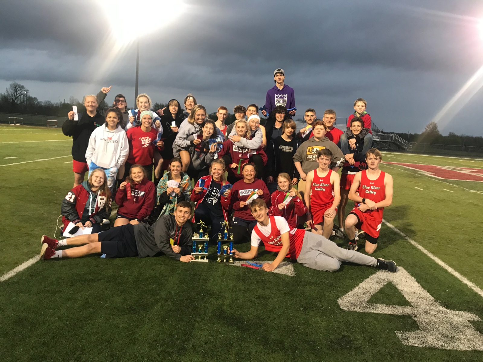 Henry County Track Champions 2020-21