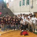 Boys and Girls Soccer teams recognized during annual Spring Pep-Rally!