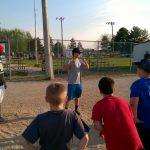 Falcon Baseball Players Give Back