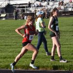 Gutwein qualifies for Girls Track Regionals, throwers achieve personal bests