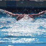 Chaparral High School Boys Varsity Swimming falls to Sunrise Mountain High School 95-71