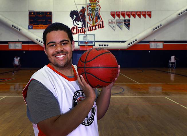 It took this prep basketball player four years to score, and it was worth the wait