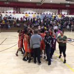 Girls Varsity Basketball beats Pahrump Valley 46 – 43