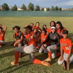 Softball gets playoff win beating Mojave 15-9