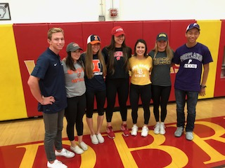 7 WHS Athletes Sign EARLY National Letters of Intent