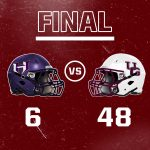 Wolverines dominate Hornets 48 – 6