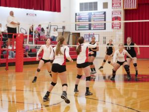 8/29 JV Volleyball