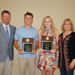 Bill Lannom Outstanding Athletes of the Year:Nick Magruder and Reilly Williams
