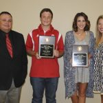 2015-2016 Fighting Heart Award Winners: Chase Dilbeck and Kara Cornell