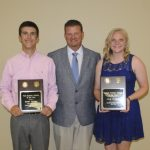 Scholar Athletes of the Year: Dylan Harden and Carly Heitland