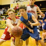 Sulphur Boys 8th Grade Basketball falls to Dickson 32-27