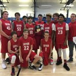 Sulphur High School Boys Freshman Basketball beat Marietta 9th grade 32-24