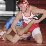 Sulphur High School Boys Varsity Wrestling falls to Newcastle High School 45-36