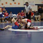 Sulphur Boys Junior High Wrestling falls to Durant High School 54-27