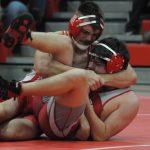 Sulphur High School Boys Varsity Wrestling beat Davis High School 39-27