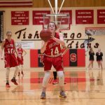 Sulphur High School Girls Varsity Basketball beat Tishomingo 56-38