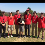Sulphur Boys Junior High Golf finishes 1st place