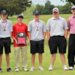 Sulphur High School Boys Varsity Golf finishes 1st place