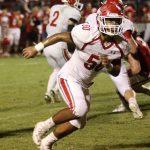 Sulphur High School Varsity Football falls to OKC-John Marshall 35-18