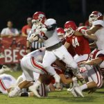 Sulphur High School Varsity Football beat Davis High School 40-15