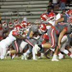 Sulphur High School Varsity Football beat Madill High School 54-7