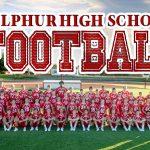 Sulphur High School Varsity Football beat Lone Grove High School 54-13