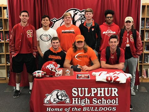 Jacob Farrell signs with Oklahoma State University