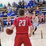 Boys Varsity Basketball beats Dickson 51 – 49