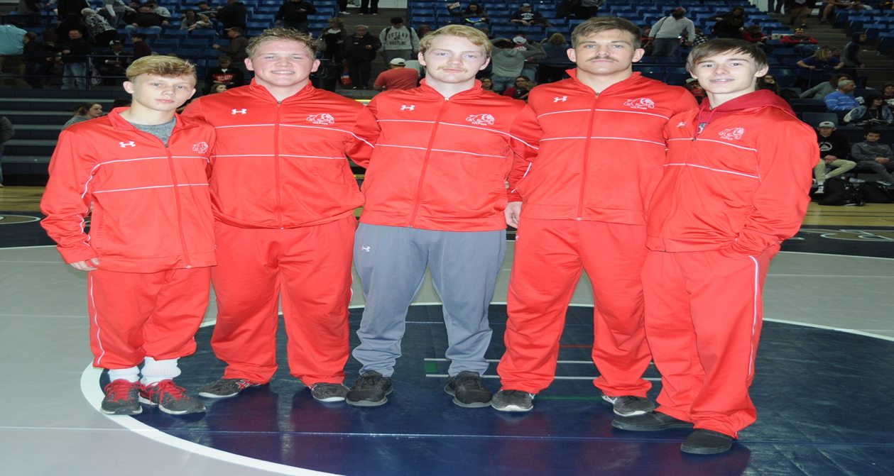 5 Bulldog Wrestlers Qualify for State Tournament!