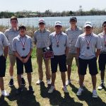 Boys Varsity Golf finishes 1st place at Sulphur Boys Golf – Sulphur Invitational