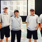 Boys Varsity Golf finishes 4th place at OSSAA Regional (Purcell)
