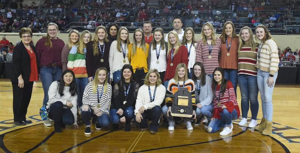 2019 Academic State Champions