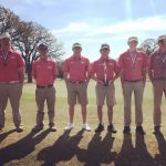 Boys Varsity Golf finishes 2nd place at Dickson Invitational