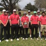 Dogs finish 1st with score of 304, Hinson fires 74 for medalist honors
