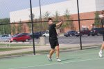 Boys Tennis defeat New Castle