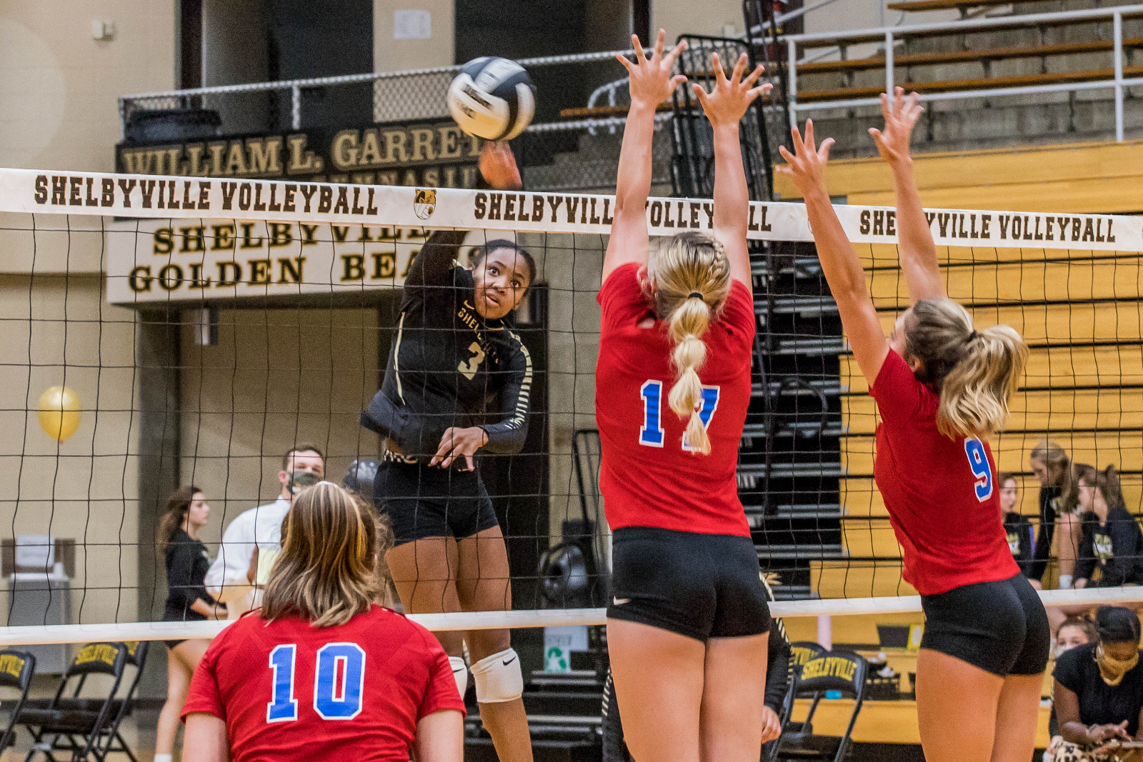 Volleyball Defeats Pendleton Heights