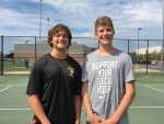 Boys Tennis Beat Triton Central to Advance to Sectional Final