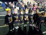 Cheer Camp at Football Game