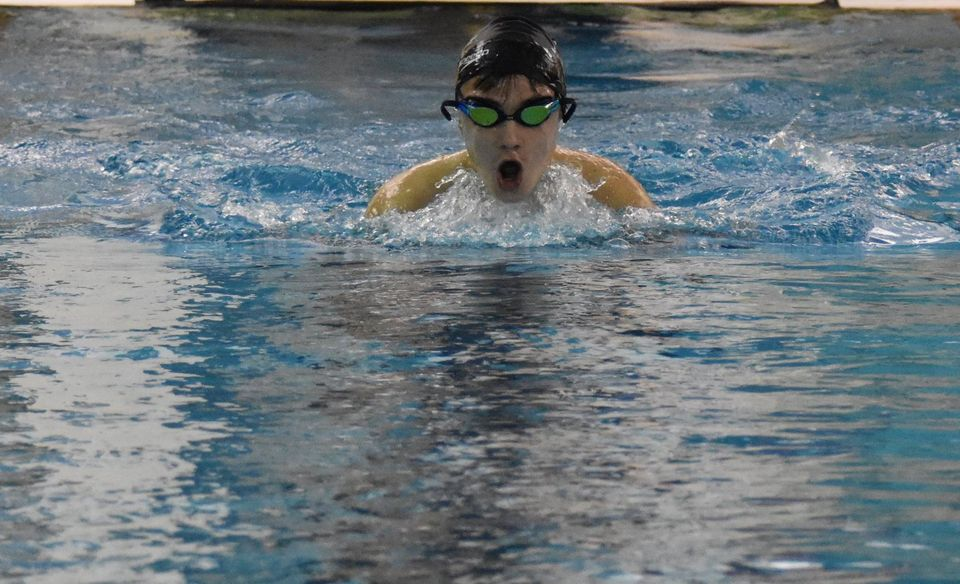 Boys and Girls Swimming