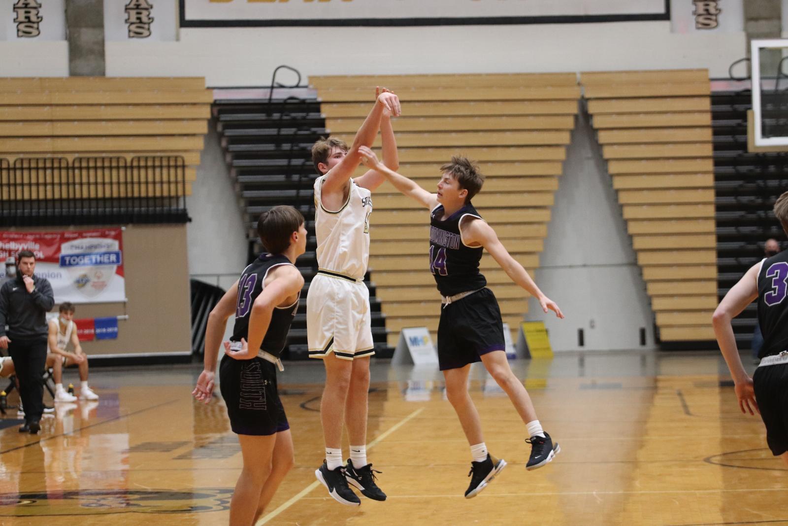 Boys Basketball Highlights vs. Seymour