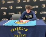 Austin Dwenger Signs with Franklin College