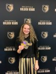 Paige Parsons Receives IHSAA Sportsmanship Pin