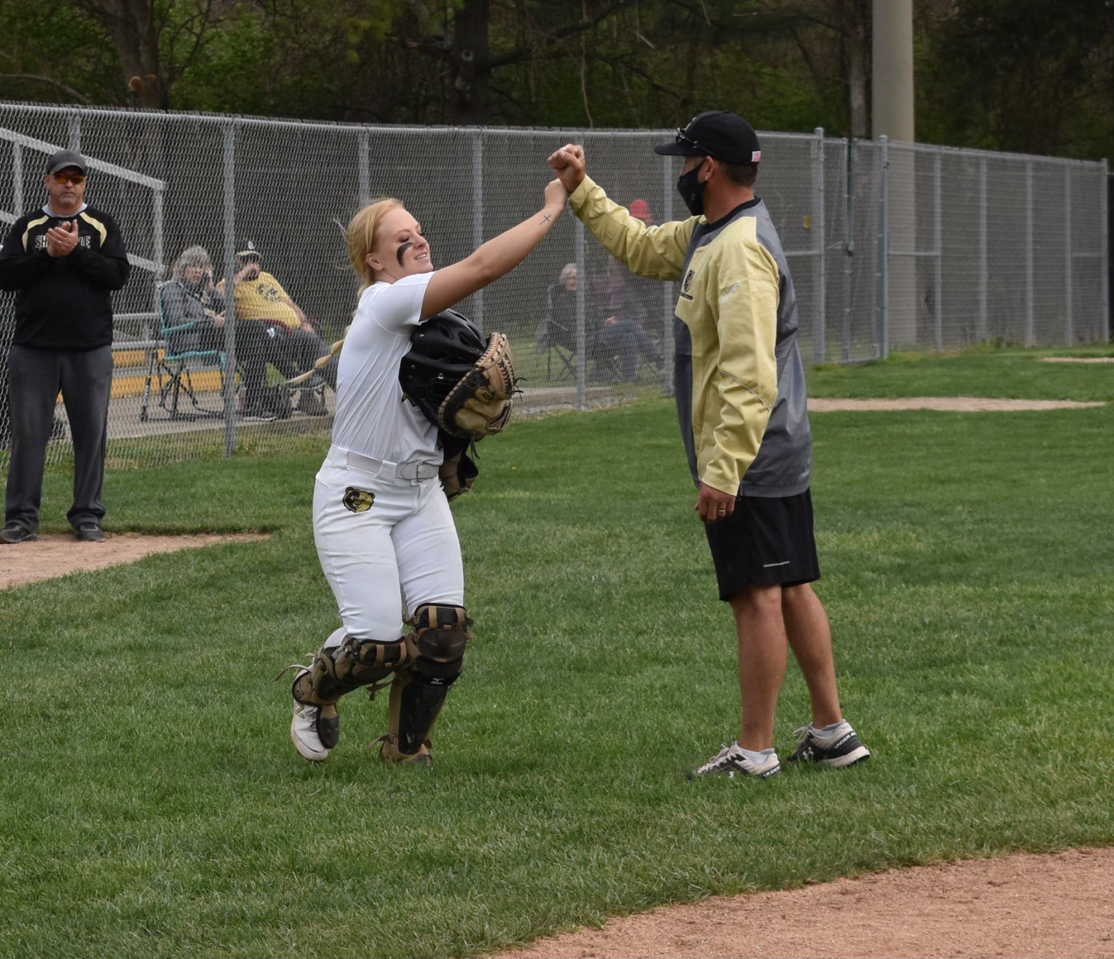 Softball vs. East Central and New Castle