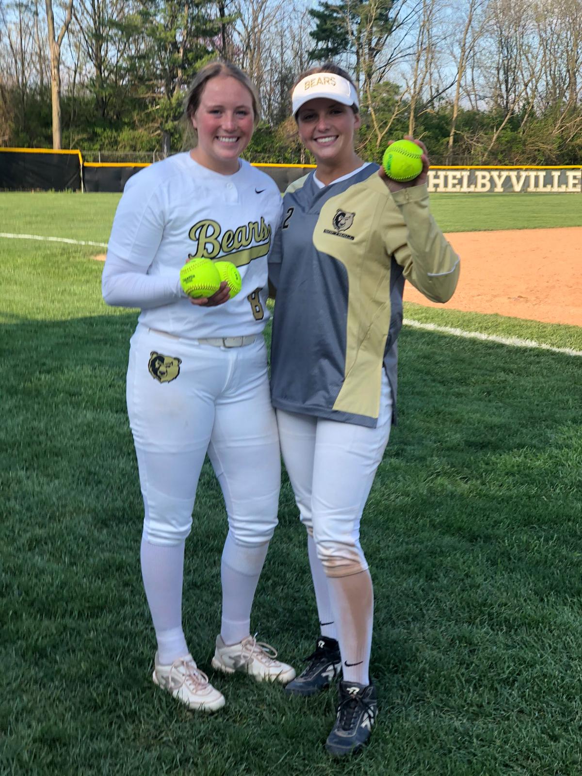 Softball Home Runs vs. Pendleton Heights and Rushville